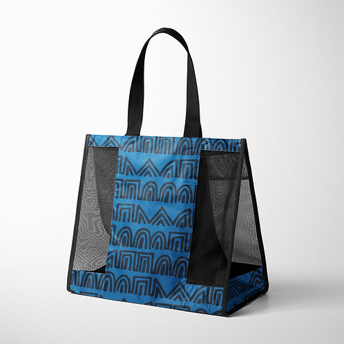 Mesh Bag African Tribal