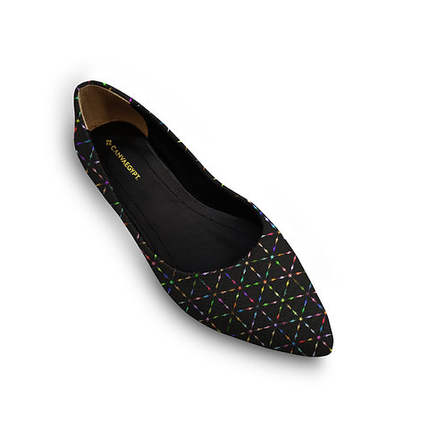 Flat Women's Shoe Neon