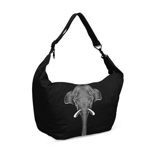Crescent bag Elephant Tribal