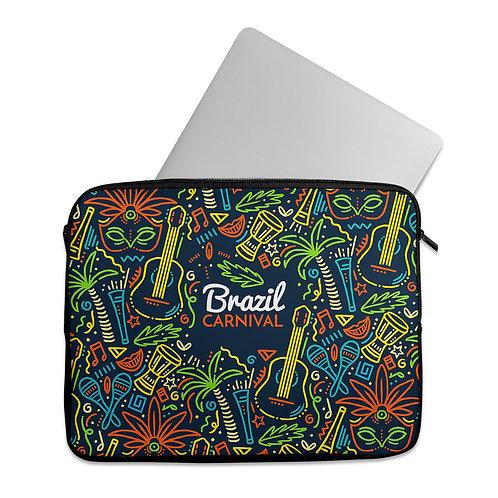Laptop Sleeve Brazil Carnival