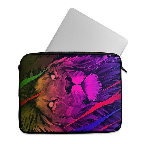 Laptop Sleeve Colorful lion