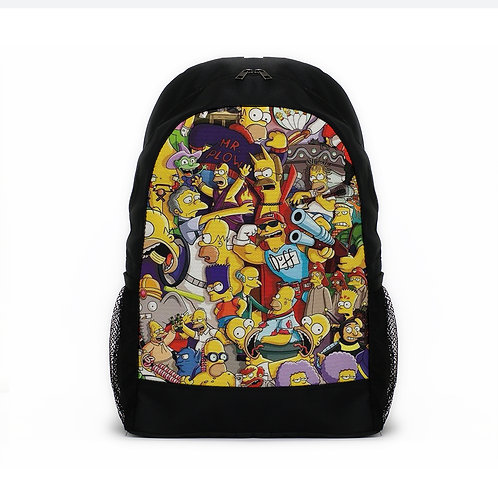 Sports Backpacks Simpsons