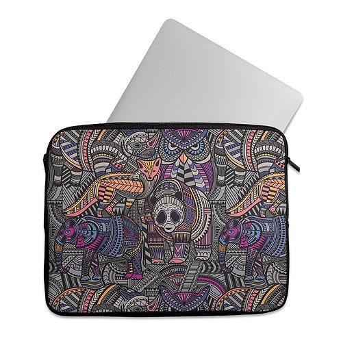 Laptop Sleeve Animals Tribal