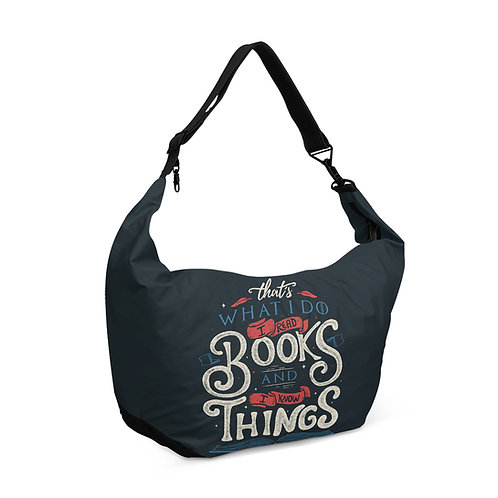 Crescent bag I know By Reading books
