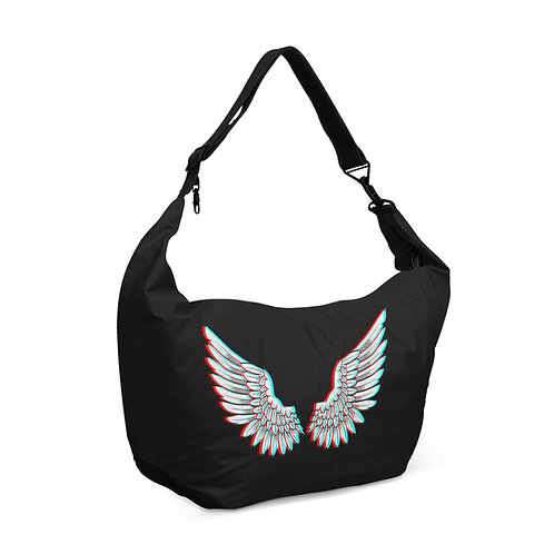 Crescent bag Angel Wings