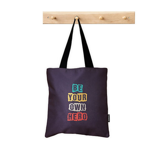 ToteBag Be your own Hero