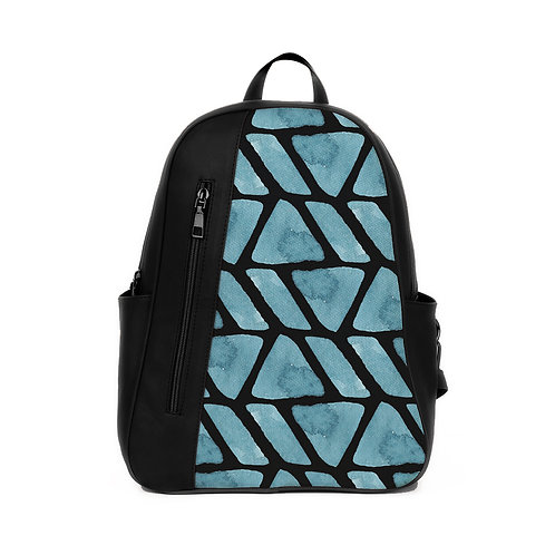 Mixed Backpack African Blue
