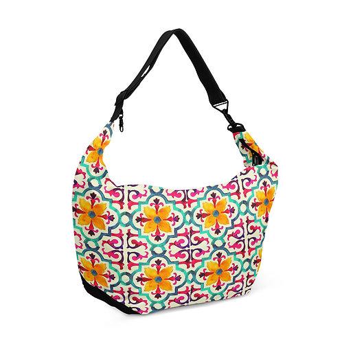Crescent bag ara pattern