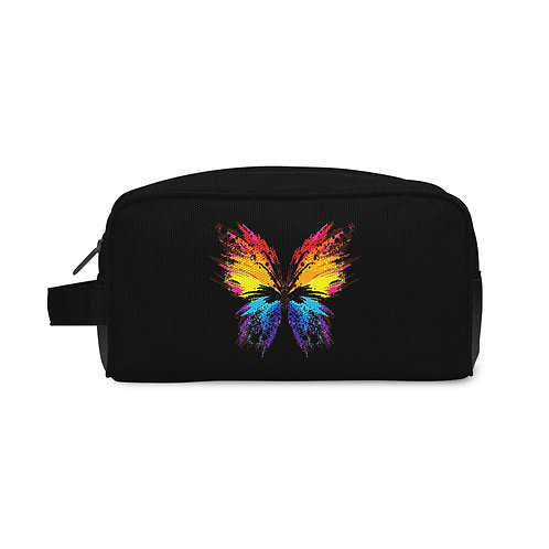 Travel Case Colorful Butterfly