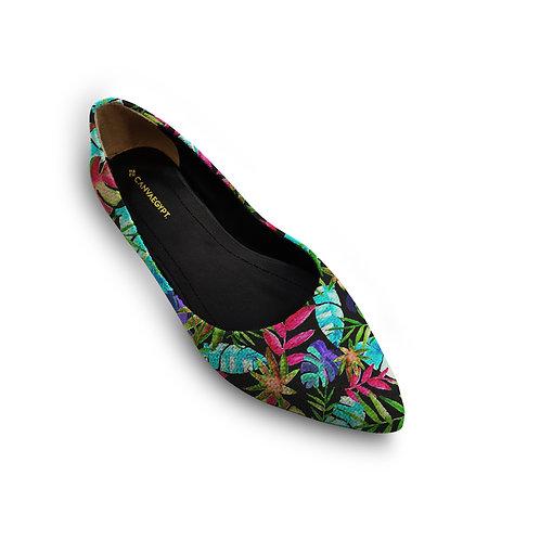 Flat Women's Shoe Tropical