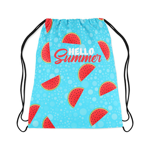 Drawstring Bag Summer Watermelon