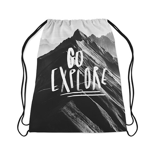 Drawstring Bag Go Explore