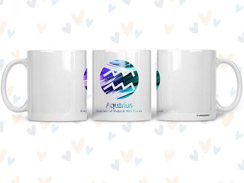 Ceramic Mug ( Aquarius )