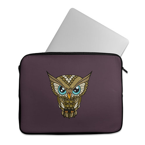 Laptop Sleeve owl-sova
