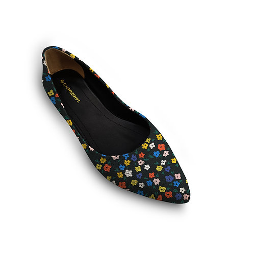 Flat Women's Shoe  Calico