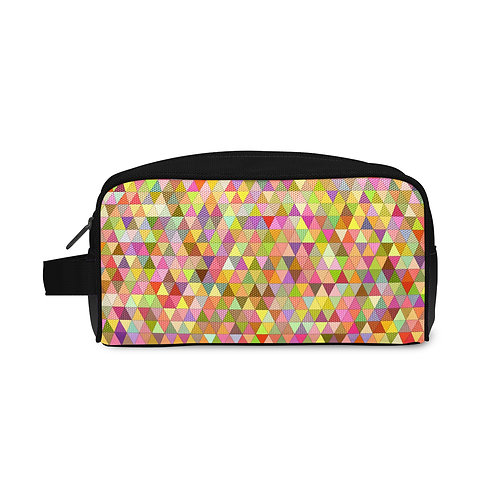 Travel Case Triangles Colors