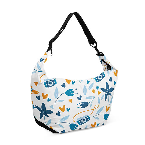 Crescent bag White Pattern