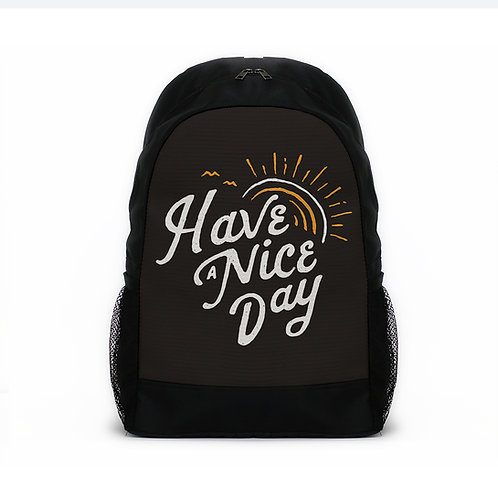 Sports Backpacks Have a nice day