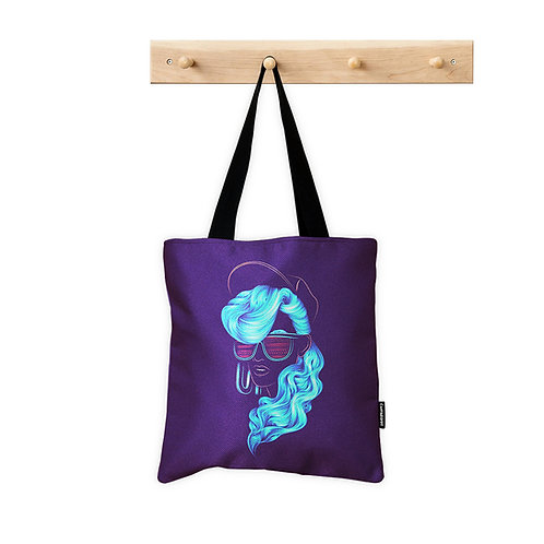 Tote Bag Neon Girl