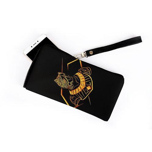 Mobil Case Black Panther Golden