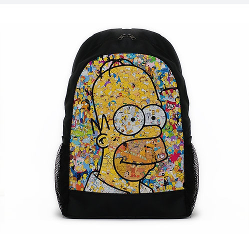 Sports Backpacks Simpsons Popart