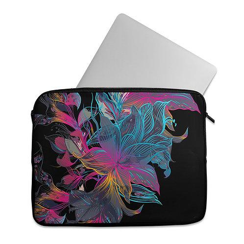 Laptop Sleeve Floral Blue
