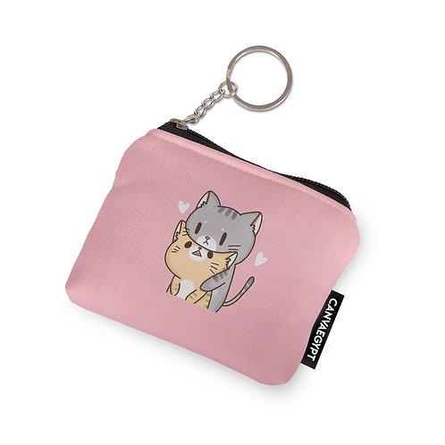Coin Pocket Kitty love