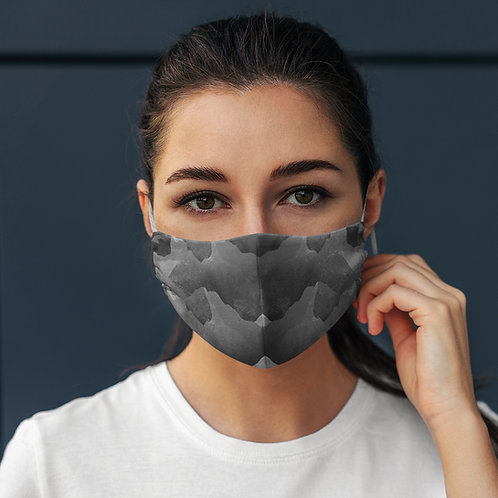 Face Mask Grey Rocks