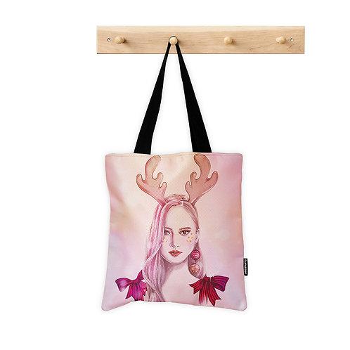 ToteBag Deer Girl