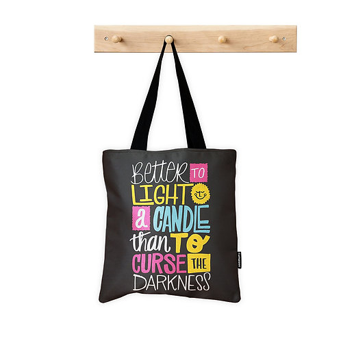 Tote Bag Light a Candle