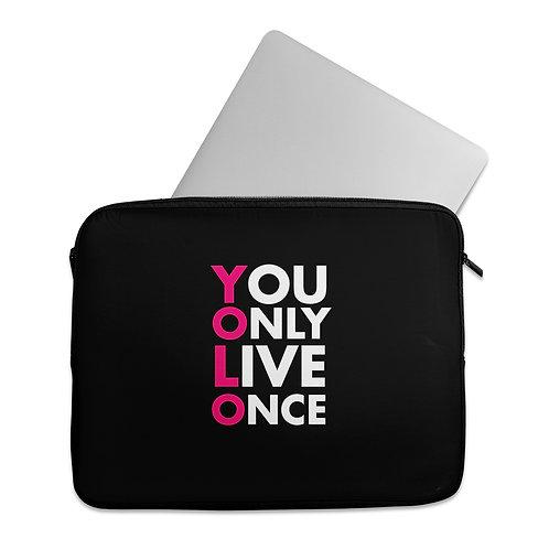 Laptop Sleeve YOLO
