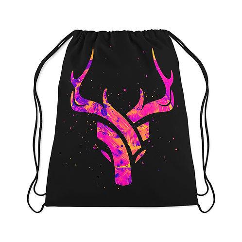 Drawstring Bag Abstract deer