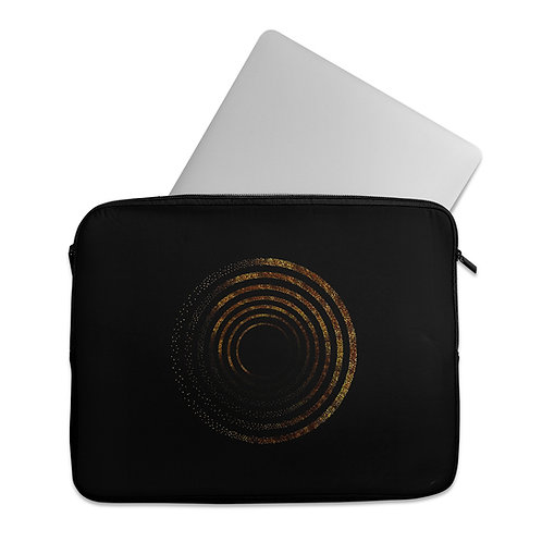Laptop Sleeve Golden Circle