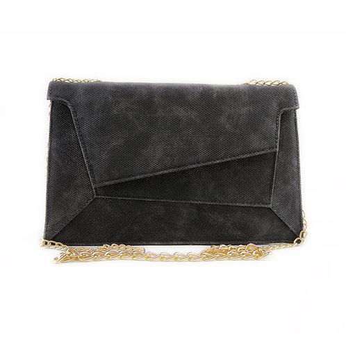 Patchwork Women's Handbag Black