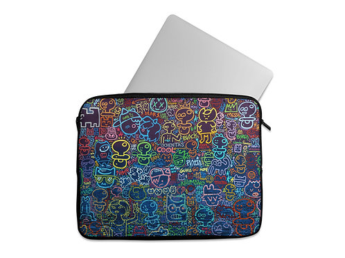 Laptop Sleeve Neon