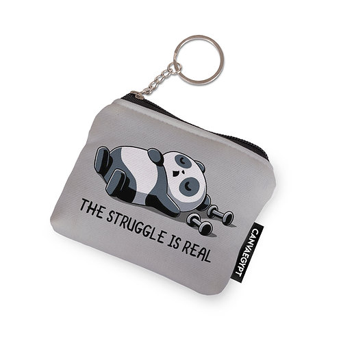 Coin Pocket Panda The Struggle Is Real