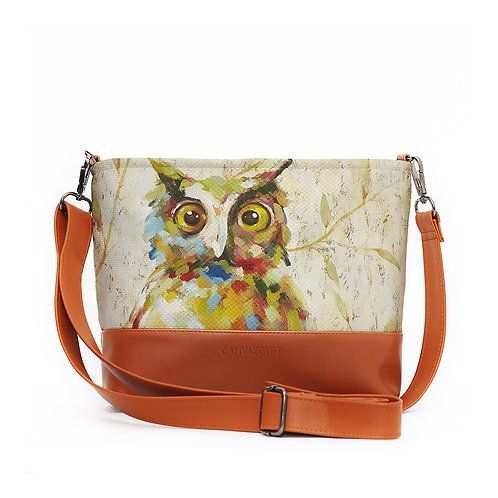 Mixed Crossbody Bags Abstract Owl