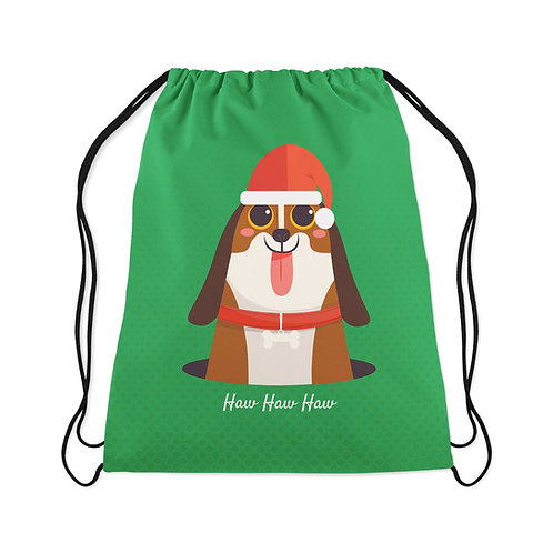 Drawstring Bag Haw haw haw