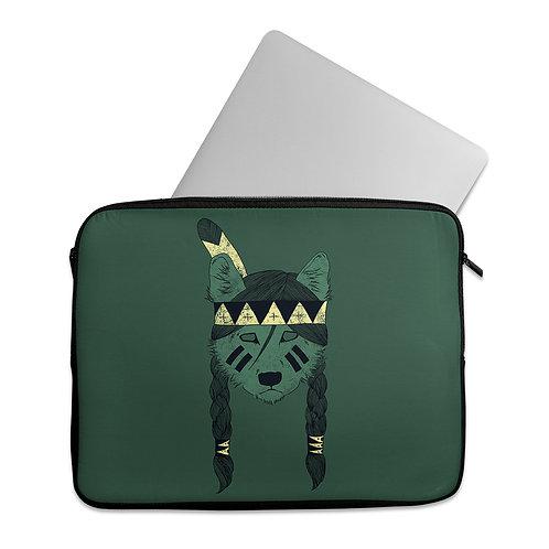 Laptop Sleeve Green Skin