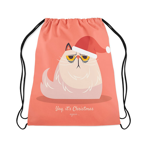 Drawstring Bag Grumpy Christmas