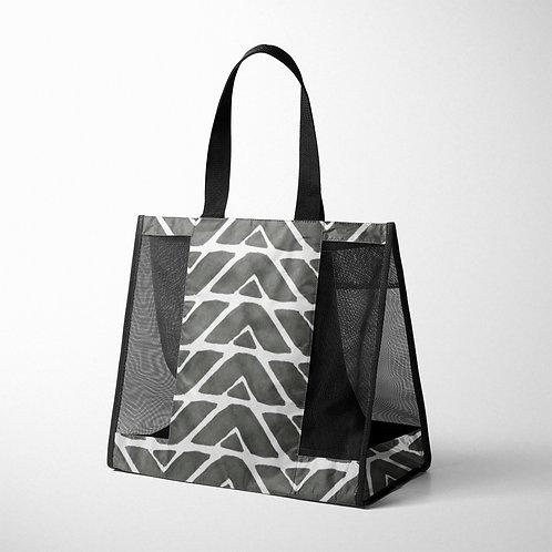 Mesh Bag African Black