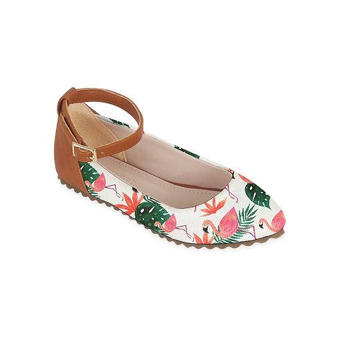 Kids Round Shoes Flamingo