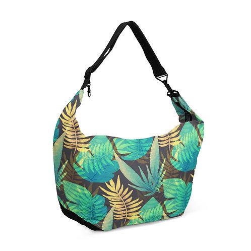 Crescent bag Summer leafs