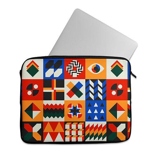 Laptop Sleeve Geo Art