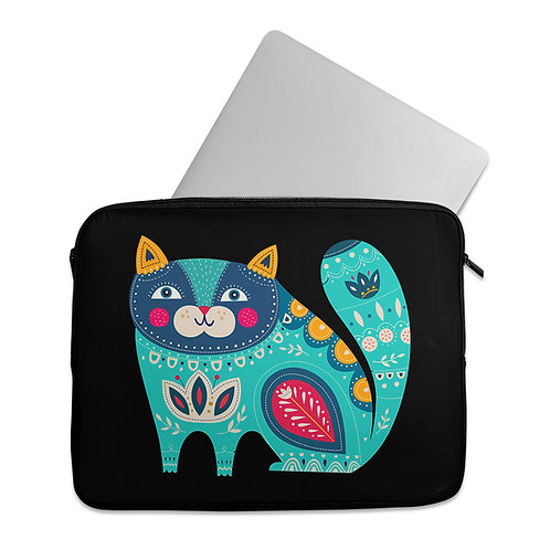 Laptop Sleeve Decorative cat