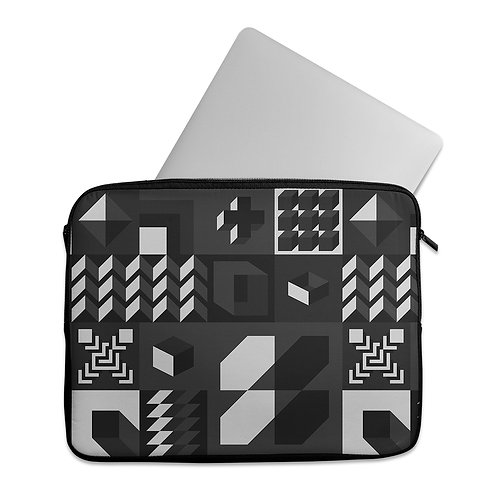 Laptop Sleeve Geo Shapes