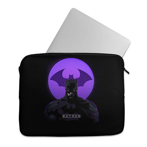 Laptop Sleeve Batman purple