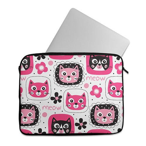 Laptop Sleeve Meow