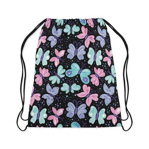 Drawstring Bag Butterfly seamless