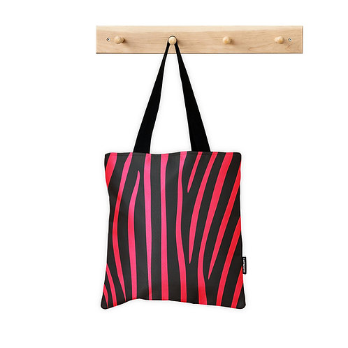 Tote Bag Pinky Zebra